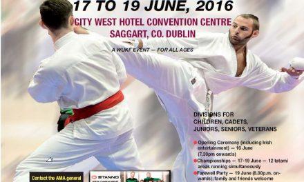 Risultati Mondiale WUKF 2016 Dublino – Irlanda