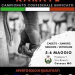 Campionato Confederale Unificato Adulti 2018