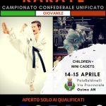 Campionato Confederale Unificato Giovanile 2018