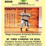 Campania: Stage di Karate con il M. Ciro Varone