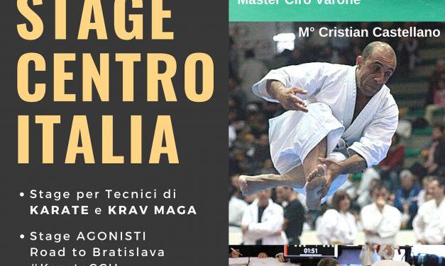 STAGE CENTRO ITALIA 2019