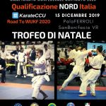 Qualificazione NORD Italia al KarateCCU 2020 – Trofeo di Natale