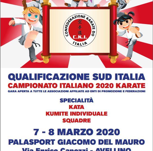 Annullata la gara di Qualificazione Sud Italia 2020