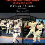 KARATECCU 2021: CAMPIONATO CONFEDERALE UNIFICATO